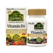 Garden Vitamin D3 60 Tabs da Natures Plus