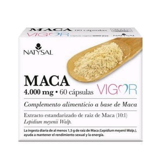 Vigor Maca 4000 mg 60 Caps de NATYSAL