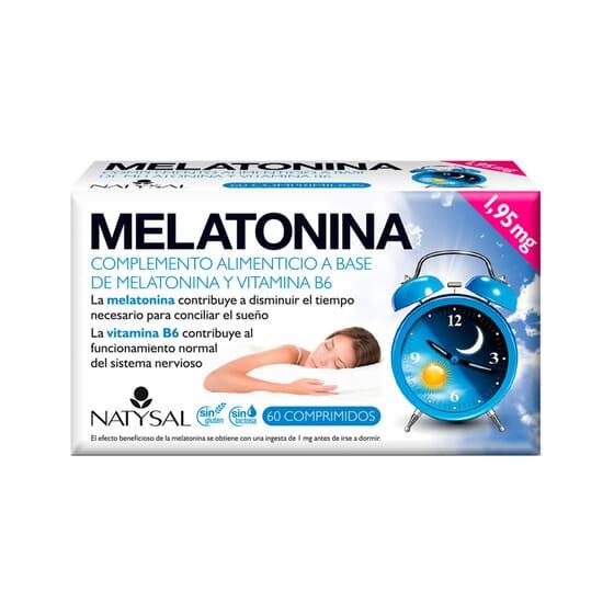 Melatonina 1,95 mg 60 Tabs da Natysal