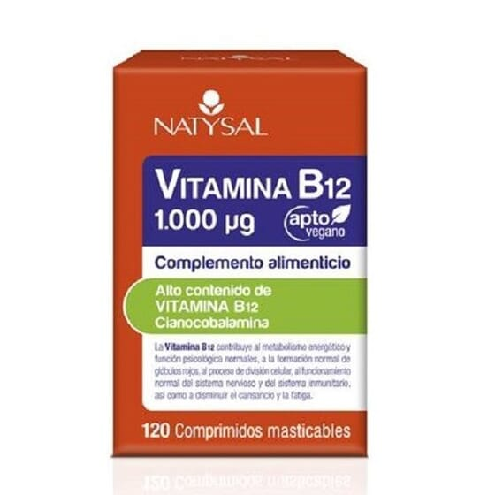 Vitamina B12 1000 ug 120 Tabs da Natysal