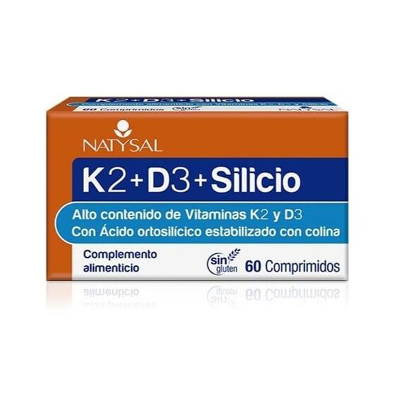 K2 + D3 + Silicio 60 Tabs de NATYSAL