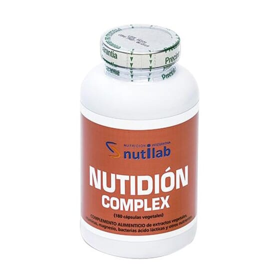 NUTIDIÓN COMPLEX 180 VCaps de Nutilab