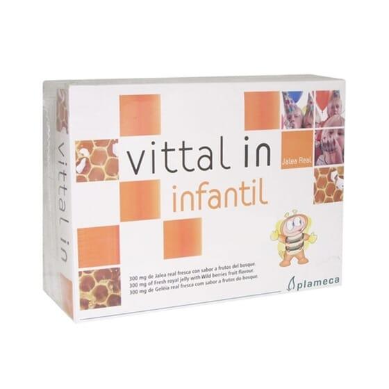 VITTAL IN INFANTIL 20 Viales x 10ml de Plameca.