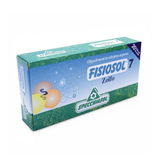 Fisiosol 7 Enxofre 20 x 8 ml da Specchiasol