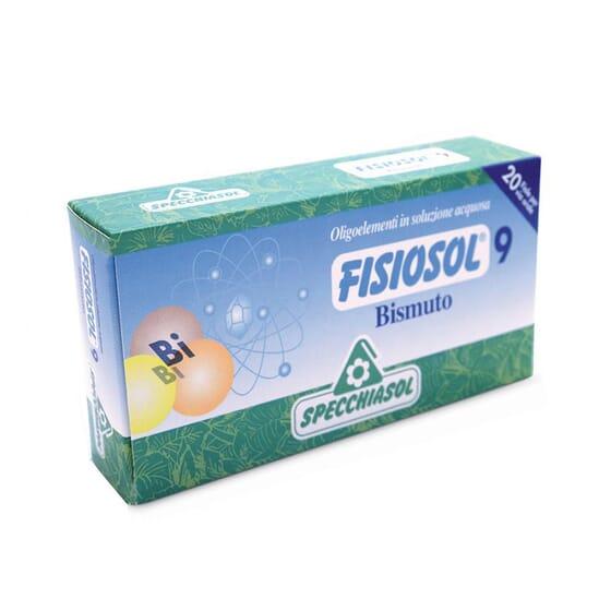 Fisiosol 9 Bismuto 20 Viales de Specchiasol
