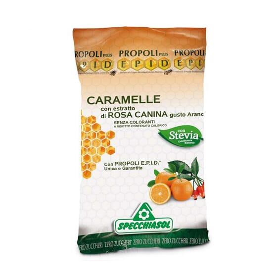 Caramelos Rosa Canina Con Stevia 24 Uds de Specchiasol