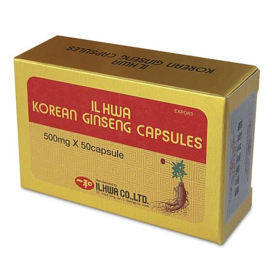 Ginseng Coreano Il Hwa 50 Caps di Tongil