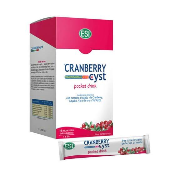 Cranberry Cyst Pocket Drink Esi 16 x 20 ml di TrepatDiet