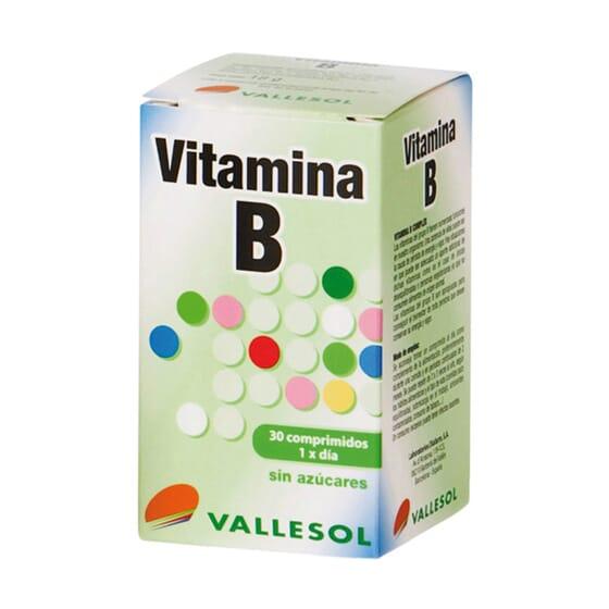 VITAMINA B COMPLEX 30 Tabs da Vallesol.