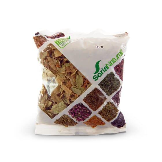 Le tilleul de Soria Natural provient de récoltes sauvages contrôlées.