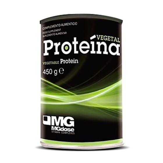 Proteína vegetal gracias a un complemento a base de proteínas de arroz y guisante.