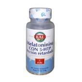 Melatonina Con 5-HTP Acción Retardada 60 Tabs de Kal