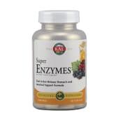 Super Enzymes 68 Tabs de Kal