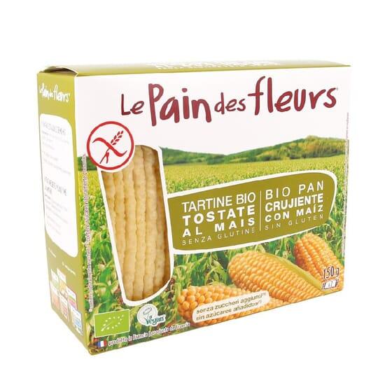 Tostadas Bio Con Maíz Sin Gluten 150g de Le Pain Des Fleurs