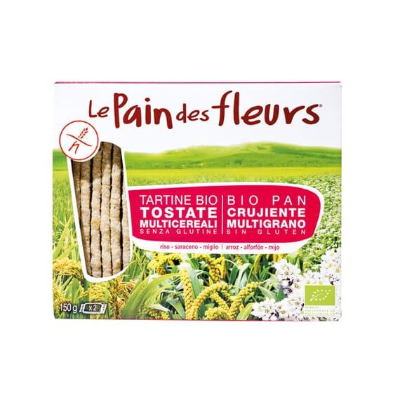 BIO PAN CRUJIENTE CON MULTIGRANO 150g de Le Pain des Fleurs