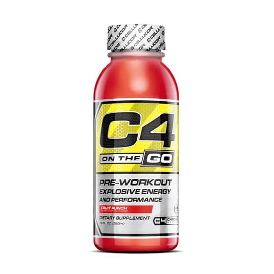 C4 On The Go es una cómoda fórmula pre-entreno.