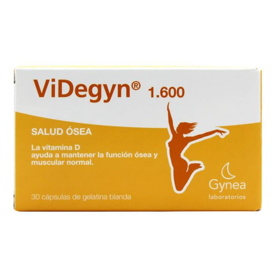 VIDEGYN 1600 SALUD ÓSEA 30 Perlas de Gynea