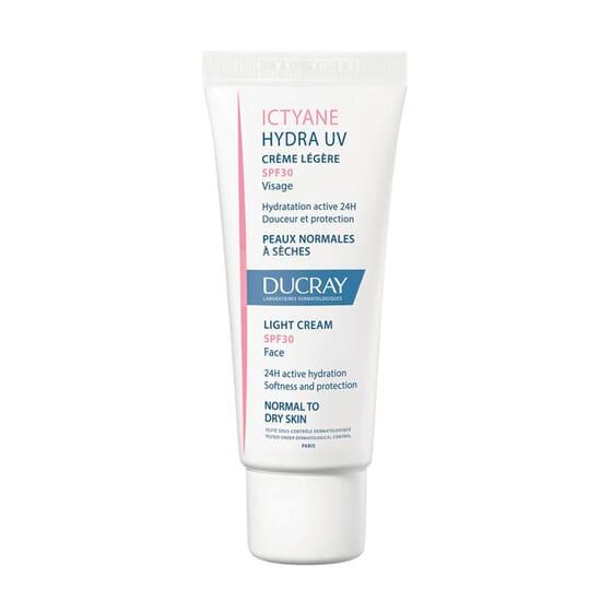 Ictyane Hydra UV Crema Leggera SPF30 40 ml di Ducray