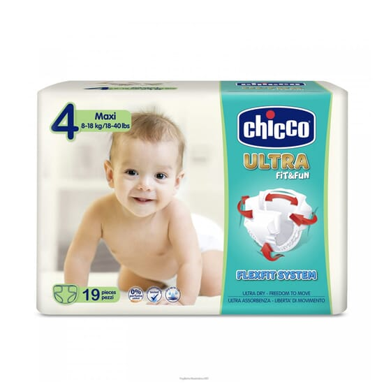 ULTRA FIT AND FUN 4 MAXI 8-18 KG 19 Ud de Chicco