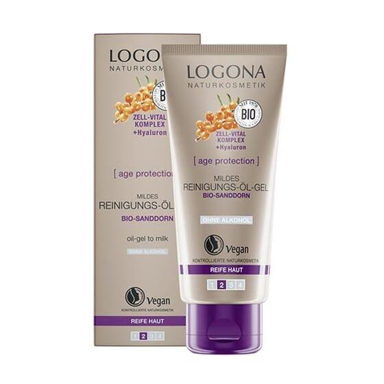 AGE PROTECTION ACEITE-GEL LIMPIADOR FACIAL 100 ml de Logona