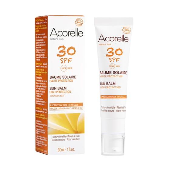 BÁLSAMO SOLAR FACIAL SPF30 30 ml de Acorelle