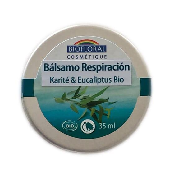 BÁLSAMO RESPIRACIÓN KARITÉ Y EUCALIPTO 35 ml de Biofloral
