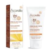 CREMA SOLAR CON COLOR SPF50 #APRICOT 50 ml de Acorelle