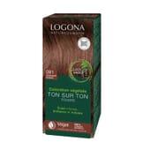 Coloration Végétale 091 Chocolat Chaud 100 g de Logona