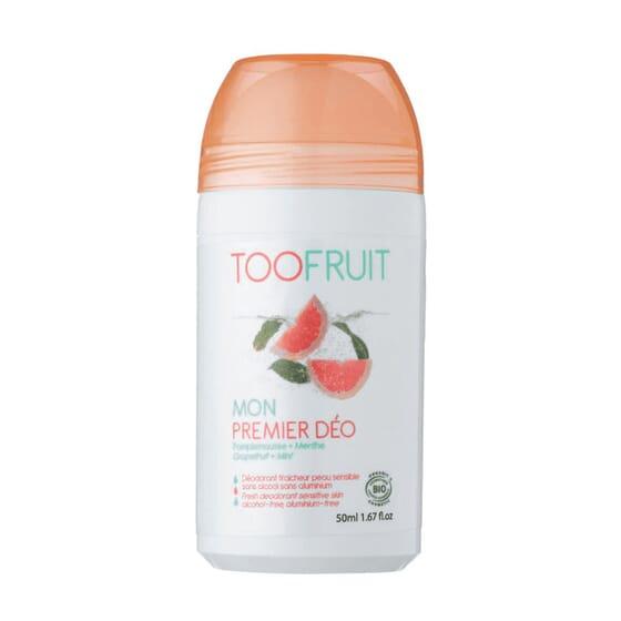 DESODORANTE ROLL-ON POMELO Y MENTA BIO 50ml de Toofruit