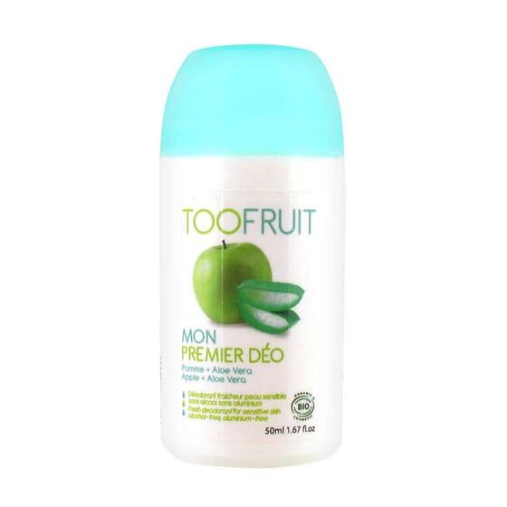 DESODORIZANTE ROLL-ON ALOE E MAÇÃ BIO 50ml da Toofruit