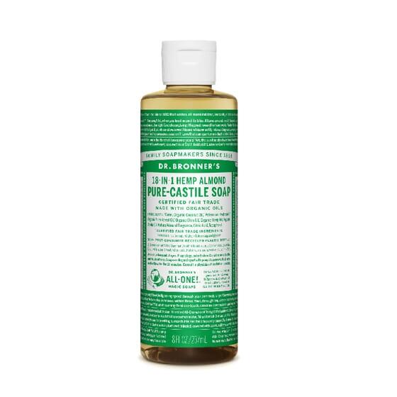 Sabonete Líquido 18-In-1 Amêndoa Pura  240 ml de Dr Bronners