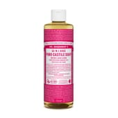 SAVON LIQUIDE 18-IN-1 ROSE PURE 475 ml Dr. Bronners