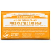 SAVON SOLIDE AGRUMES 140 g Dr. Bronner's