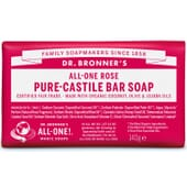 SAVON SOLIDE ROSE PURE 140 g Dr. Bronner's