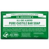 SAVON SOLIDE AMANDE PURE 140 g Dr. Bronner's