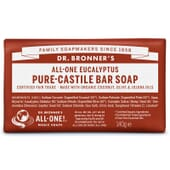 SAVON SOLIDE EUCALYPTUS PUR 140 g Dr. Bronner's