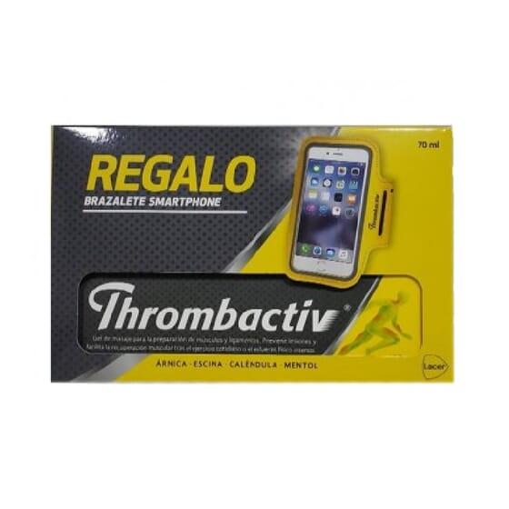 Thrombactiv Gel 70 ml + Bracelete Smartphone De Oferta  da Lacer