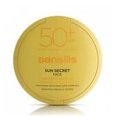 SUN SECRET COMPACT MK #01-NATURAL SPF50+ 10g de Sensilis.
