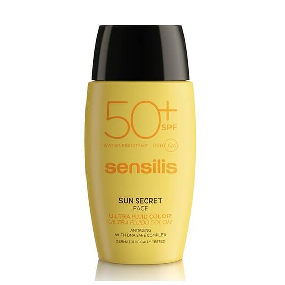 SUN SECRET ULTRA FLUIDO COLOR SPF50+ 40ml de Sensilis