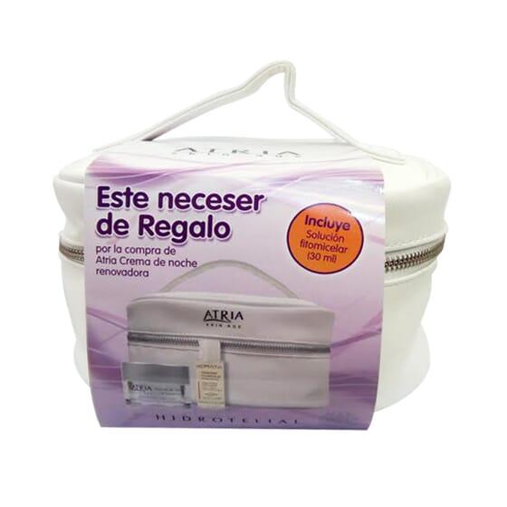 NECESER ATRIA CREMA DE NOCHE RENOVADORA 50ml + SOLUCIÓN FITOMICELAR 30ml 1 PACK de Hidrotelial