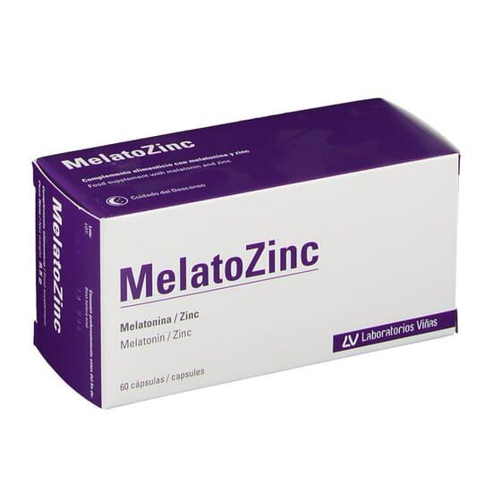 MELATOZINC 60 Gélules des Laboratorios Viñas
