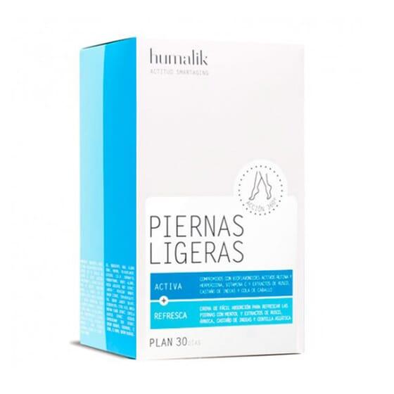 HUMALIK PIERNAS LIGERAS PLAN 30 DÍAS 60 Tabs + CREMA 150ml