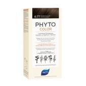 PHYTOCOLOR COLORACIÓN PERMANENTE Nº 6.77 MARRÓN CLARO CAPUCCINO 1 Pack de Phyto París