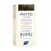 PHYTOCOLOR COLORACIÓN PERMANENTE Nº 7 RUBIO 1 Pack de Phyto París