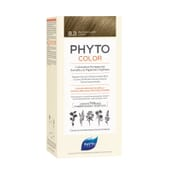 PHYTOCOLOR COLORACIÓN PERMANENTE Nº 8.3 RUBIO CLARO DORADO 1 Pack de Phyto París