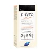 PHYTOCOLOR COLORACIÓN PERMANENTE Nº 1 NEGRO 1 Pack de Phyto París