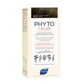 PHYTOCOLOR COLORACIÓN PERMANENTE Nº 5.3 CASTAÑO CLARO DORADO 1 Pack de Phyto París