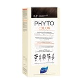 PHYTOCOLOR COLORACIÓN PERMANENTE Nº 5.7 CASTAÑO MARRÓN CLARO 1 Pack de Phyto Paris