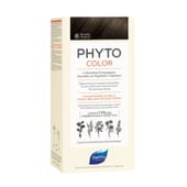 PHYTOCOLOR COLORACIÓN PERMANENTE Nº 6 RUBIO OSCURO 1 Pack de Phyto Paris