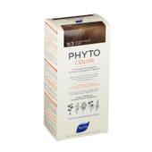 PHYTOCOLOR COLORACIÓN PERMANENTE Nº 6.3 RUBIO OSCURO DORADO 1 Pack de Phyto París